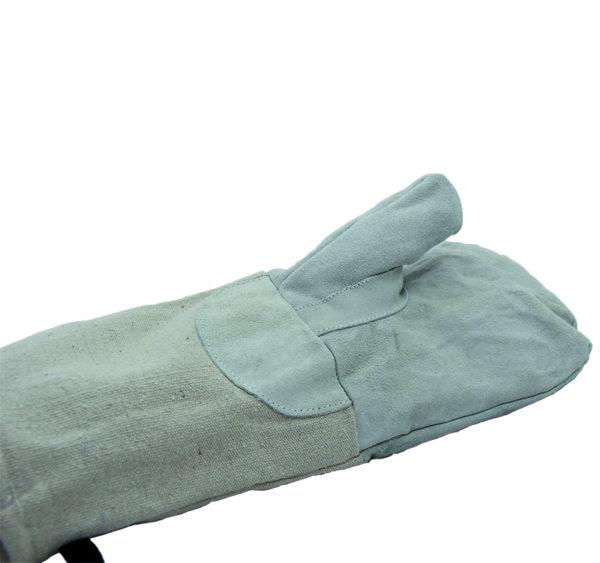 Dolga pekarna rokavica z oblogo 37 cm iz bombaža