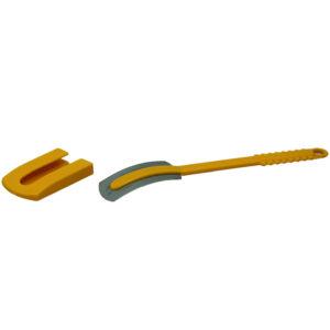 Nož za izdelavo zareze na testu z ovinkom 130×26 mm