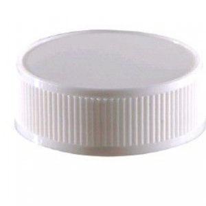 Pokrov za plastenko PET d=38 mm bel (100 kos/pak)