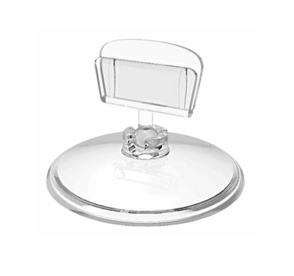 Nosilec za cene Base-clip z okroglo podlago, 10 kos