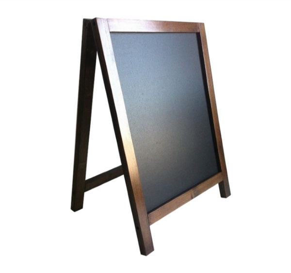Samostojeća tabla 390×550 mm lesena