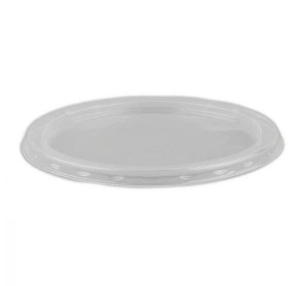Pokrov za posodico za juho PP d=115 mm prozoren (100 kos/pak)