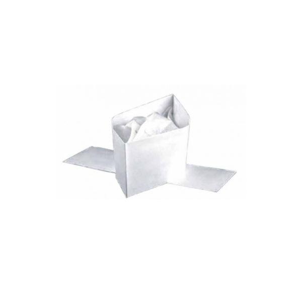 Papirnata bela kapa 100 kos/pak