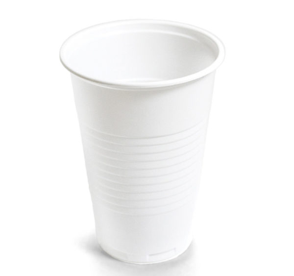 Kozarec PP 200 ml beli (100 kos/pak)