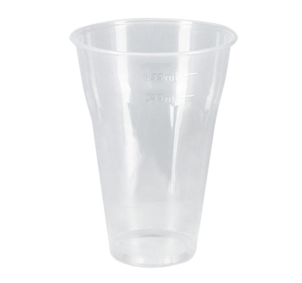Kozarec PP 330 ml d=95 mm prozoren (50 kos/pak)
