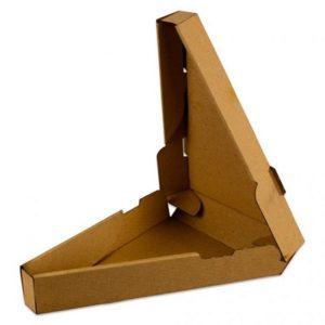 Škatla za pizzo trikotna 260 (3) x 40 mm (50 kos/pak)