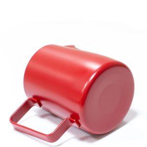 Vrč za mleko inox 350 ml rdeč
