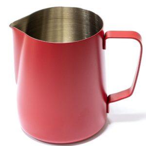 Vrč za mleko inox 600 ml rdeč