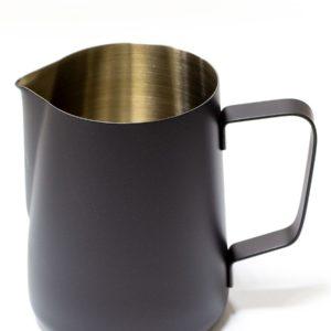 Vrč za mleko inox 350 ml črn