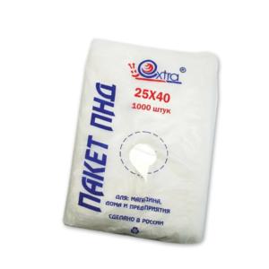Vrečke HDPE 25×40 cm 8 µm eurobox (1000 kos/pak)