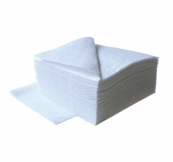 Papirnati prtički 1 sl 24×24 cm Tambien beli 400 kos/pak
