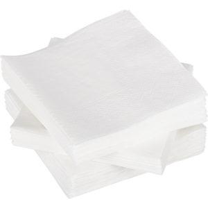 Papirnati prtički 2 sl 24×24 cm Tambien beli 250 kos/pak