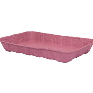 Kartonski pladenj 240x160x37 mm roza (180 kos/pak)