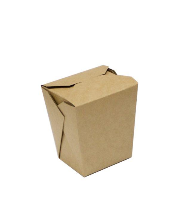 Papirnata posoda BioBox za WOK 700 ml kraft (50 kos/pak)