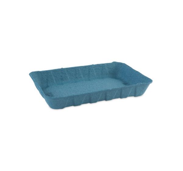 Kartonski pladenj 240x160x37 mm modri