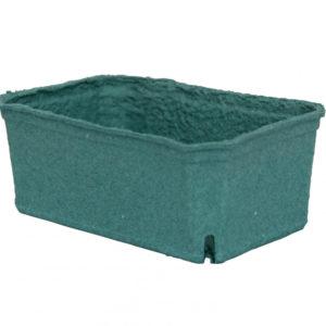 Kartonski pladenj 140x90x55 mm zeleni