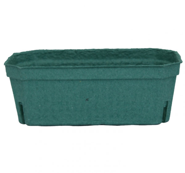 Kartonski pladenj 190x110x70 mm zeleni