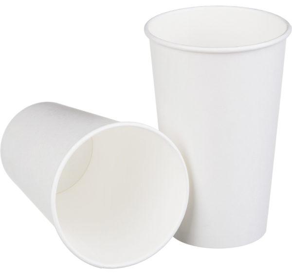 Papirnat kozarec 400 ml d=90 mm 1-slojni (50 kos/pak)