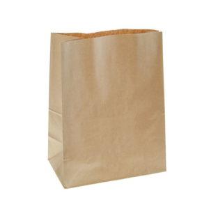 Papirnata vrečka 240х140х400 mm kraft (400 kos/pak)