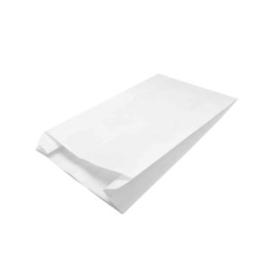 Papirnata vrečka 140х45х250 mm bela (2000 kos/pak)