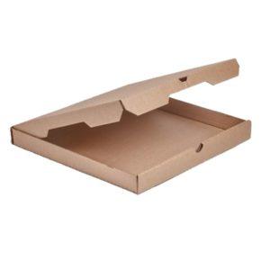 Škatla za pizzo 450x450x40 mm valovit karton (25 kos/pak)