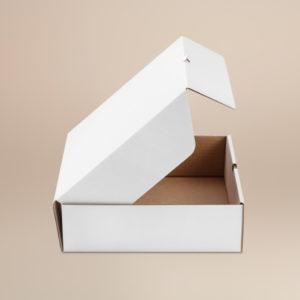 Škatla visoka za pie 280x280x85 mm valovit karton (50 kos/pak)